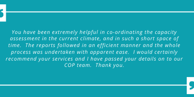 Testimonial From a Happy Client
